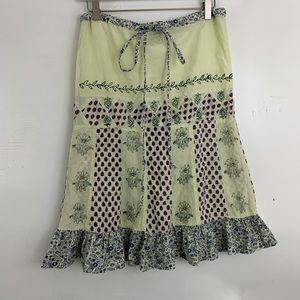 🌛Vintage prairie ruffle skirt 🌛